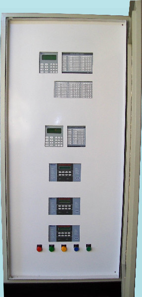 Fire Detection System Panel