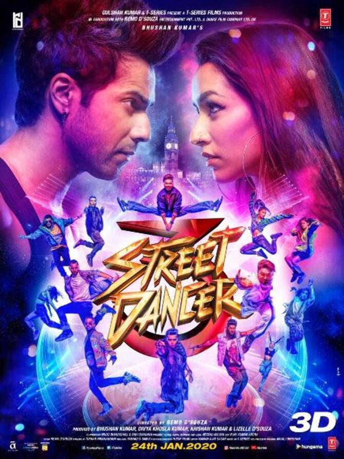 Shraddha Kapoor    Varun Dhawan Street Dancer 3D Movie photo  14