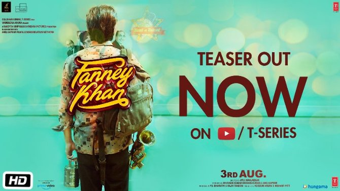 Anil Kapoor Fanney Khan movie First Look