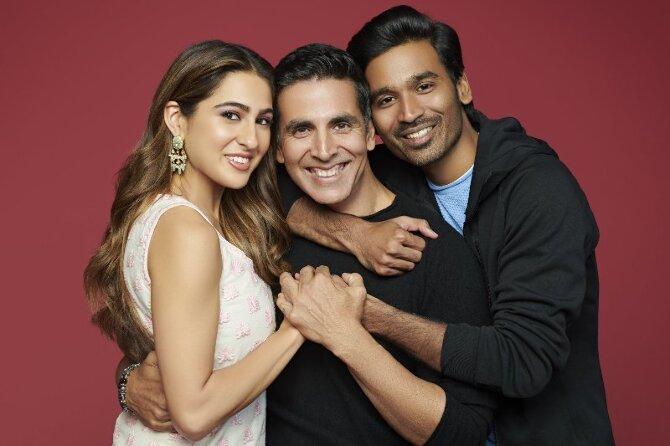 Akshay Kumar  Dhanush and Sara Ali Khan new film Atrangi Re 02