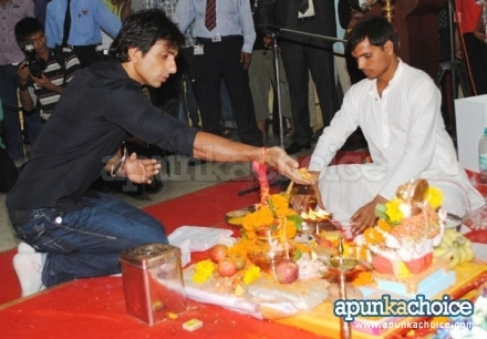 Sonu sood at oberoi