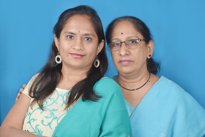 Ms. Pushpa and Mrs. Mangala