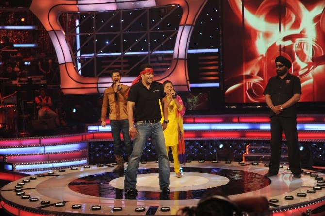 Salman Khan at Little Champs show