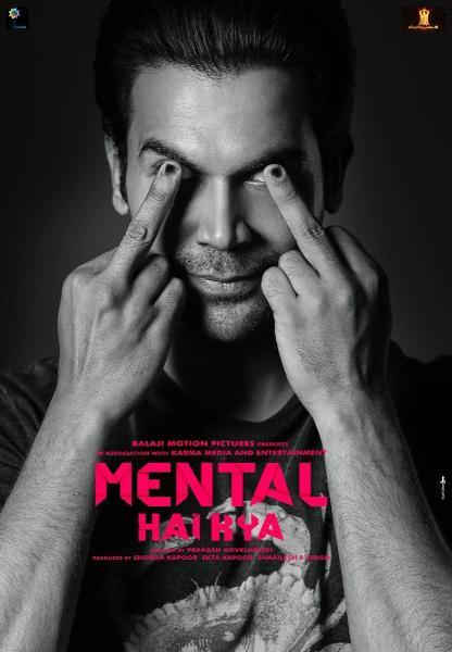 Rajkumar Rao Mental Hai Kya Movie Poster