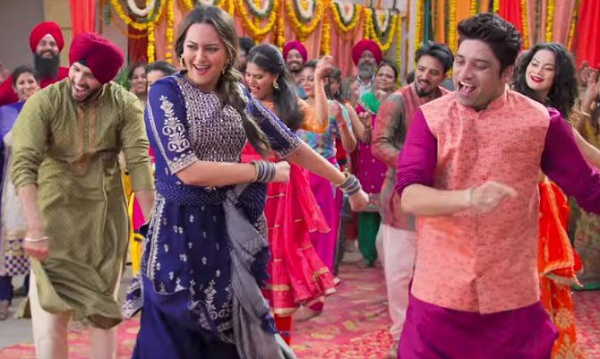 Sonakshi Sinha Happy Phirr Bhag Jayegi  Movie Stills  6