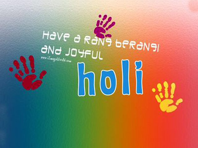 Holi Greetings Pic