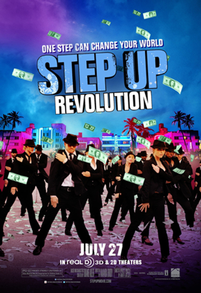 Step Up Revolution Hollywood Movie Poster