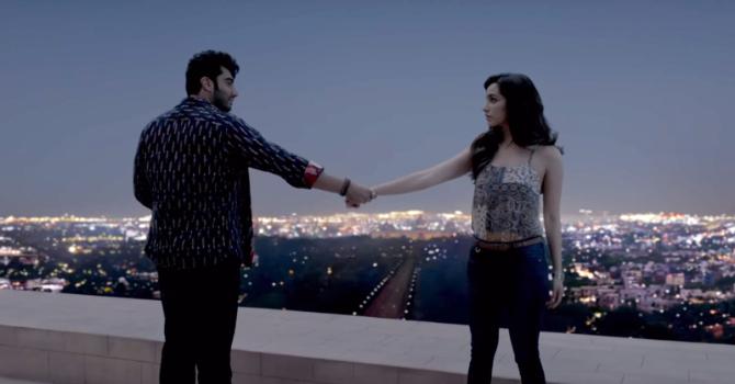 Shraddha Kapoor  Arjun Kapoor Half Girlfriend Film Stills  14