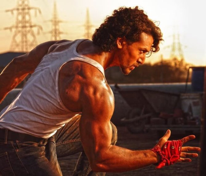 Tiger Shroff Munna Michael Movie Stills