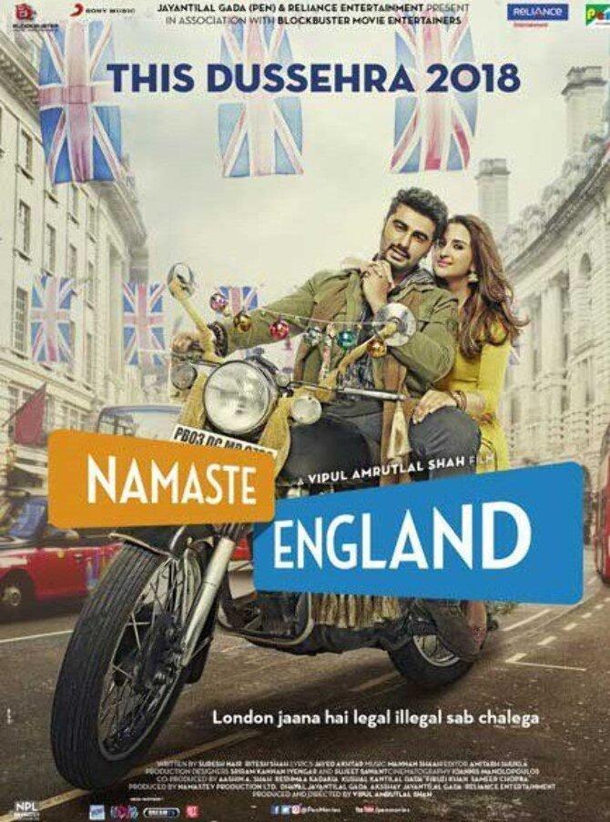 Namaste England Hindi Movie Poster