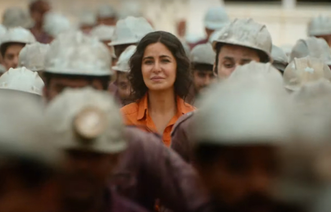Katrina Kaif starrer BHARAT Hindi Movie Photos  36