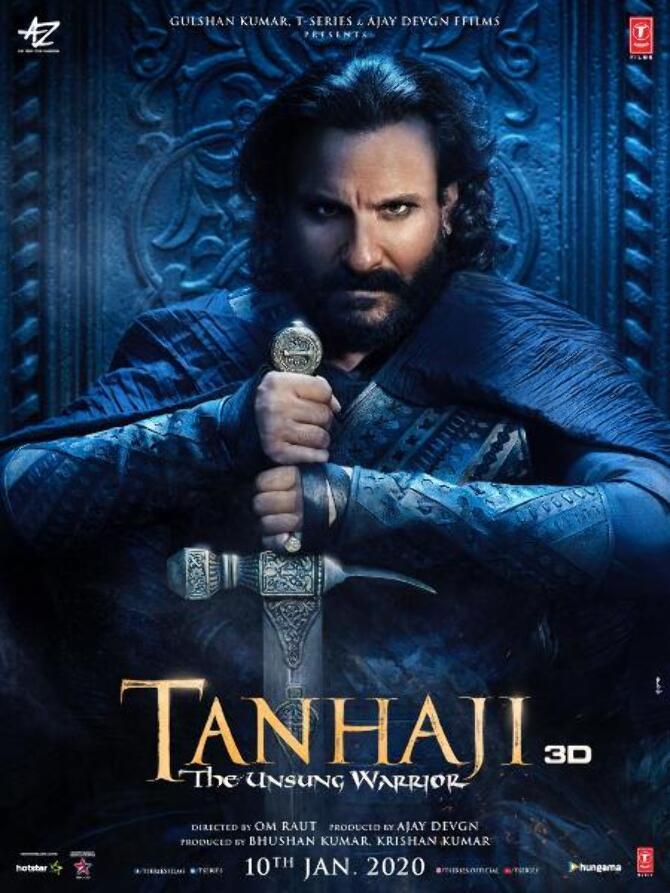 Saif Ali Khan New Poster of Tanhaji