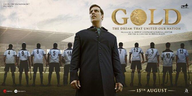 Akshay Kumar GOLD Movie Poster