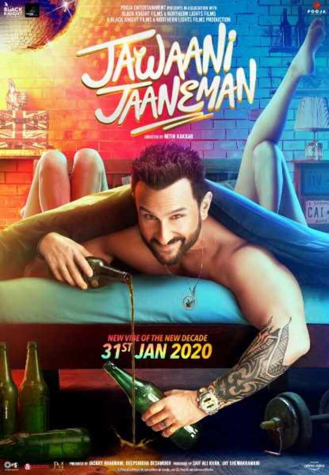 New poster Jawaani Jaaneman stars Saif Ali Khan