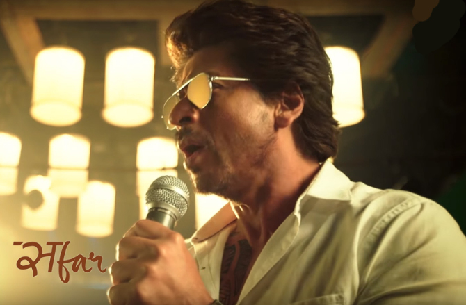 Shah Rukh Khan Jab Harry Met Sejal Movie Safar Song Pics  17