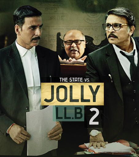 Jolly LLB 2 New Poster