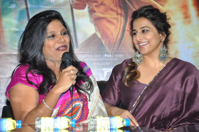 Vidya Balan at Yes Mart in Hightech City  Madapur  Hyderabad to Promote Kahaani 2 Moive  14
