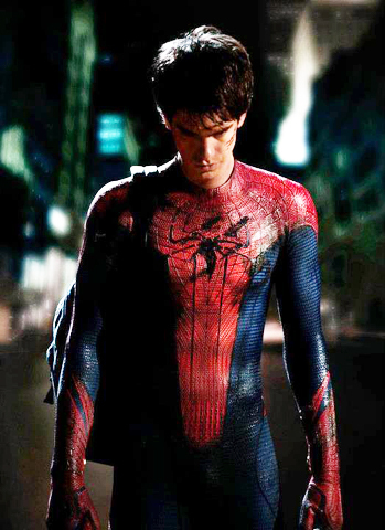 Andrew Garfield The Amazing Spider Man Movie Photo