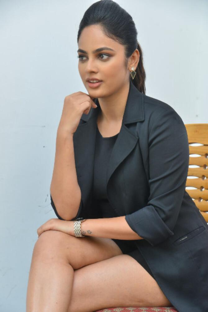 Bluff Master Heroine Naditha Swetha Interview Stills    19