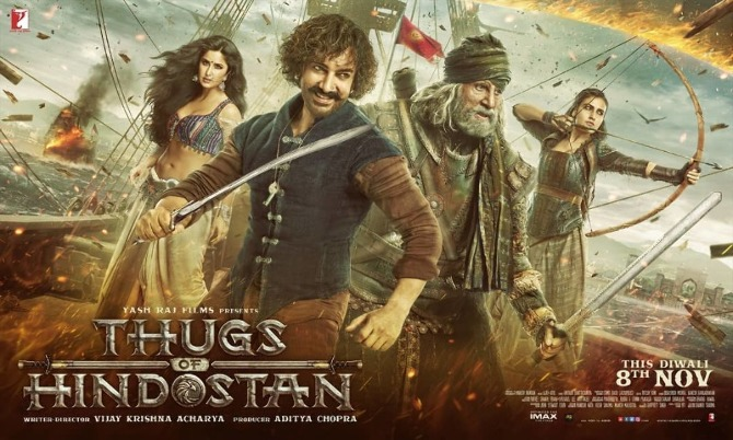 Thugs of Hidostan Movie Poster