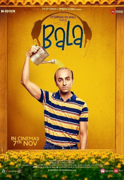 Ayushmann Khurrana as and in Bala Movie