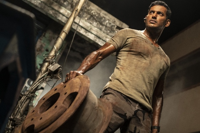 Chakra Tamil Movie Photos  2