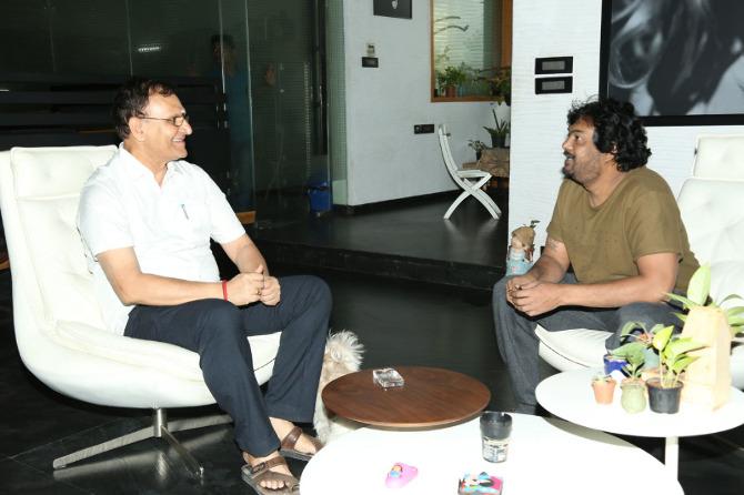 Puri jagannath Released Bluff Master Movie Title Logo  14