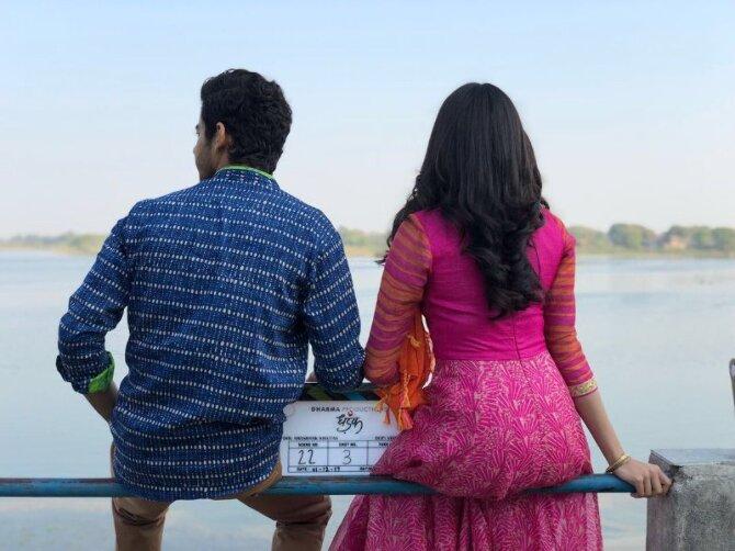 Janhvi Kapoor and Ishaan Khatter Dhadak Movie Opening