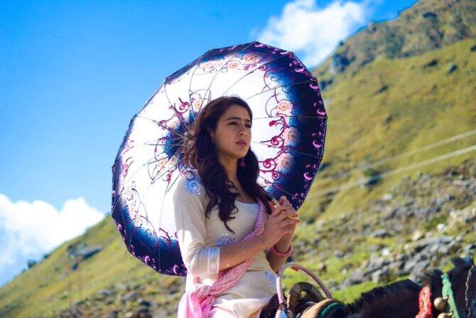 Sara Ali Khan First Look from Movie Kedarnath