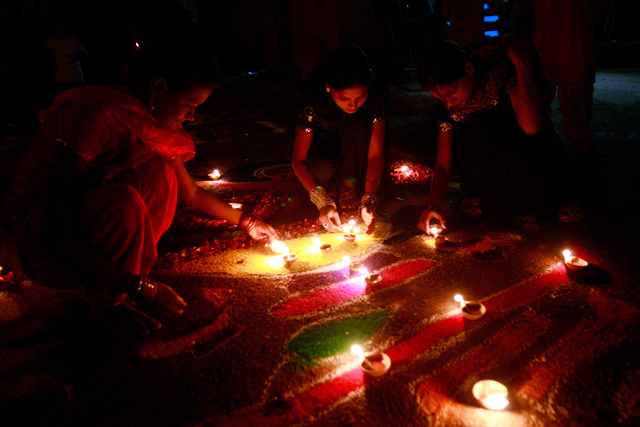 Diwali Rangoli Design