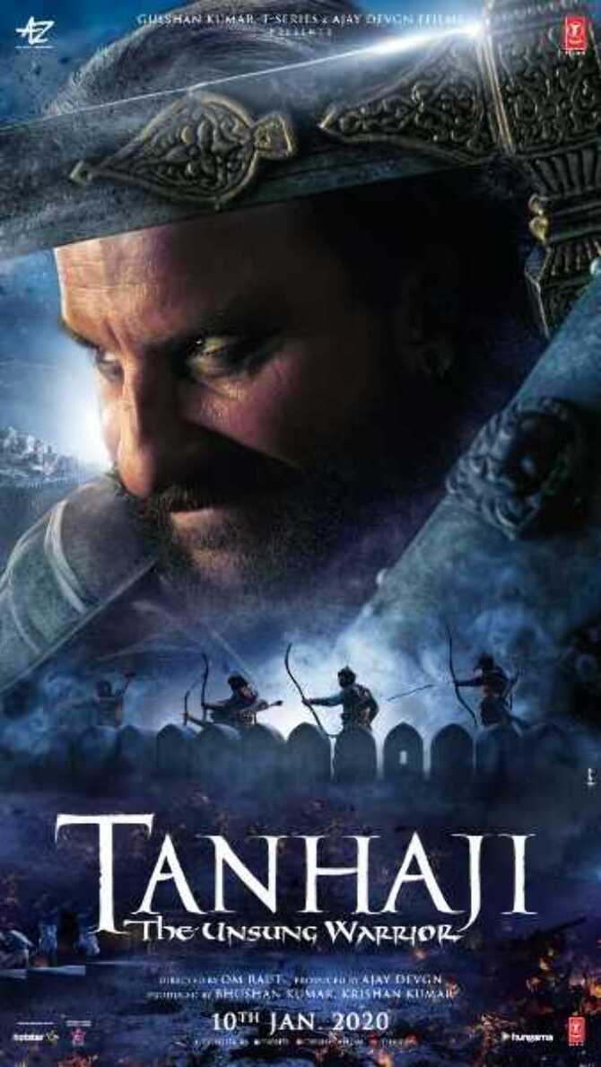 Saif Ali Khan in movie Tanhaji   The Unsung Warrior