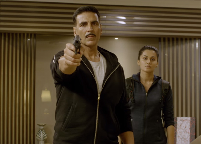 Taapsee Pannu  Akshay Kumar Naam Shabana Movie Stills  1