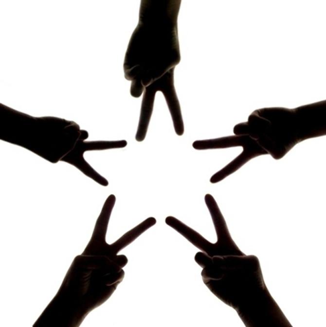 Friendship Day Star Photo