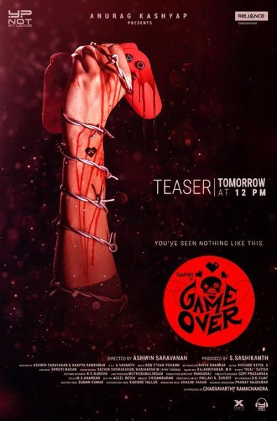 New poster of Game Over starring Taapsee Pannu