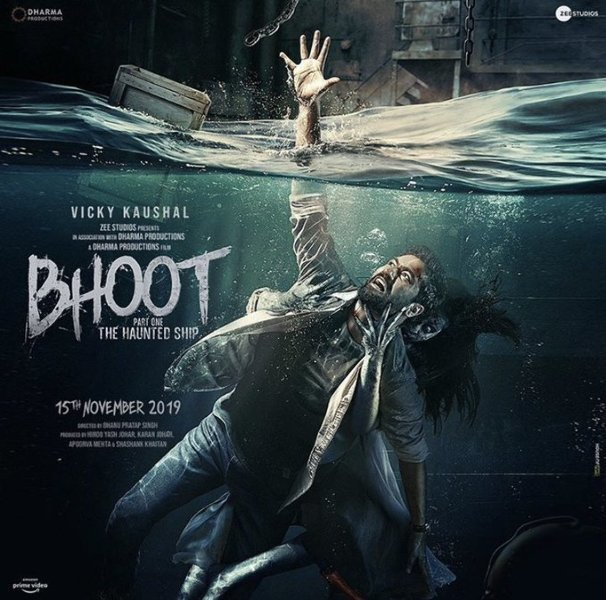 Vicky Kaushal starrer BHOOT Horror Movie Poster