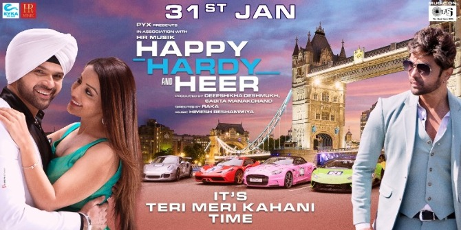 New poster of Happy Hardy And Heer