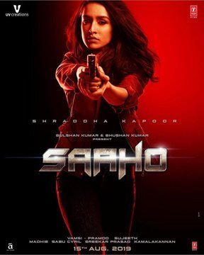 Shraddha Kapoor SAAHO Movie Poster First Look