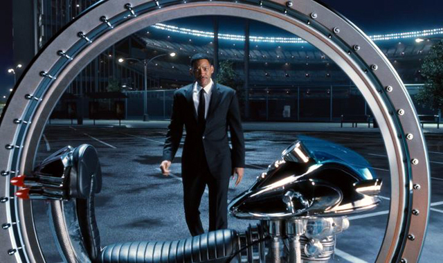 Will Smith in Men in Black 3 Pic