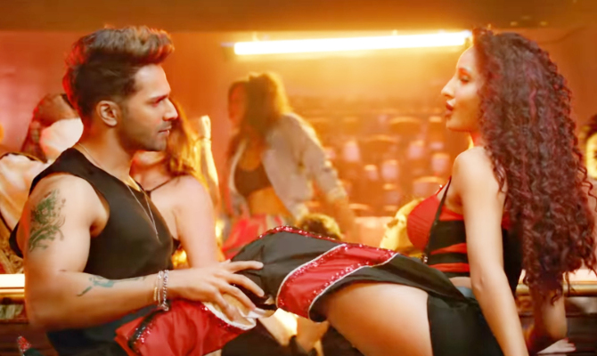 Nora Fatehi   Varun Dhawan starrer Street Dancer 3D Movie Song Garmi Pic  5
