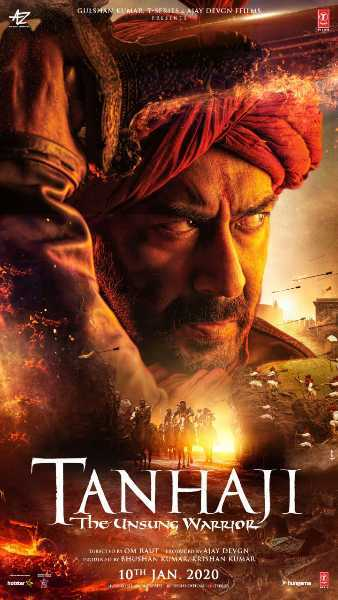 Ajay Devgn in and as Tanhaji   The Unsung Warrior