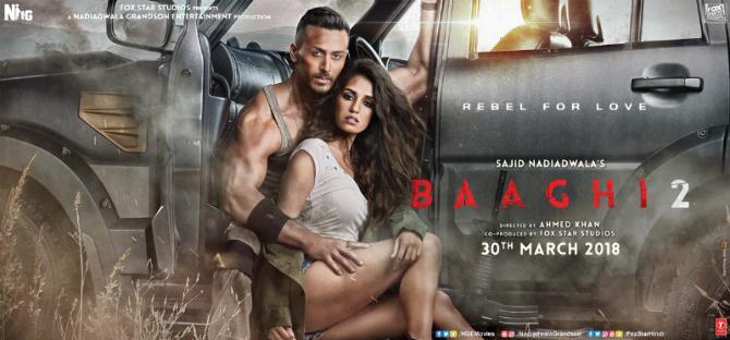 Baaghi 2 Hindi Movie Poster  1