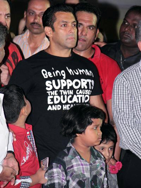 Salman Khan at the launch of fitness center NITRO Pure Fitness photo
