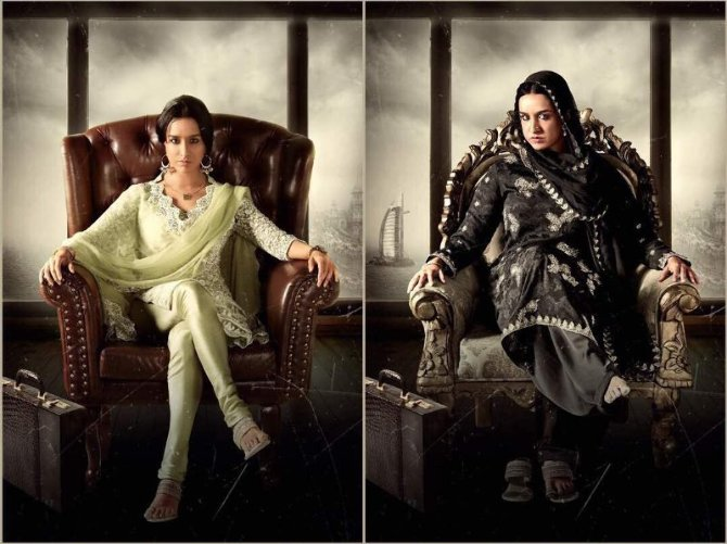 Shraddha Kapoor Haseena Movie Young and Old Look
