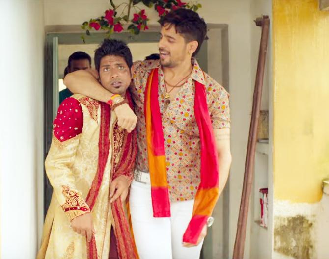 Sidharth Malhotra Jabariya Jodi Movie Photos  14