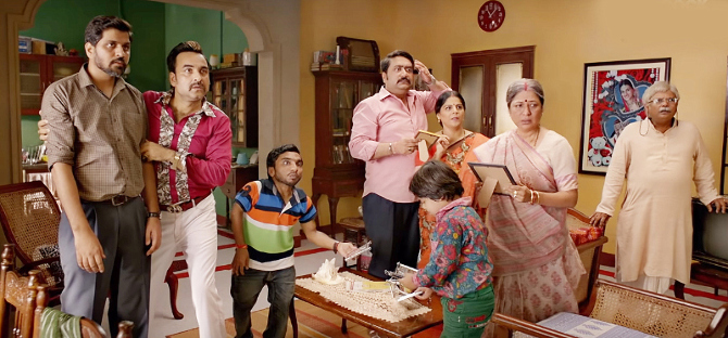 Pankaj Tripathi  Kriti Sanon   Kartik Aaryan starrer Luka Chuppi Hindi Movie Photos  12