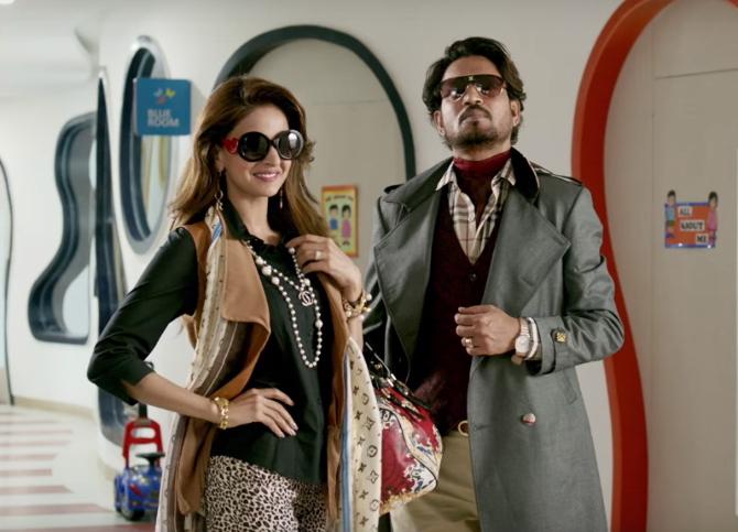Saba Qamar and  Irrfan Khan Hindi Medium Movie Stills  1