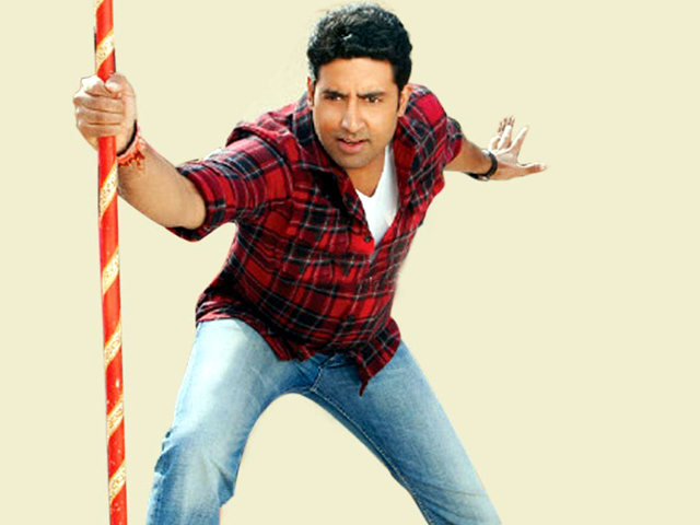 Abhishek Bachchan Bol Bachchan Movie Photo