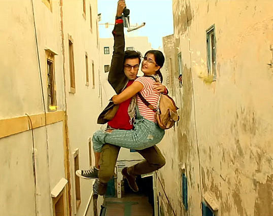 Katrina Kaif  Ranbir Kapoor Jagga Jasoos Movie Stills  7