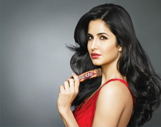 Katrina Kaif Choc On Choclate Pic