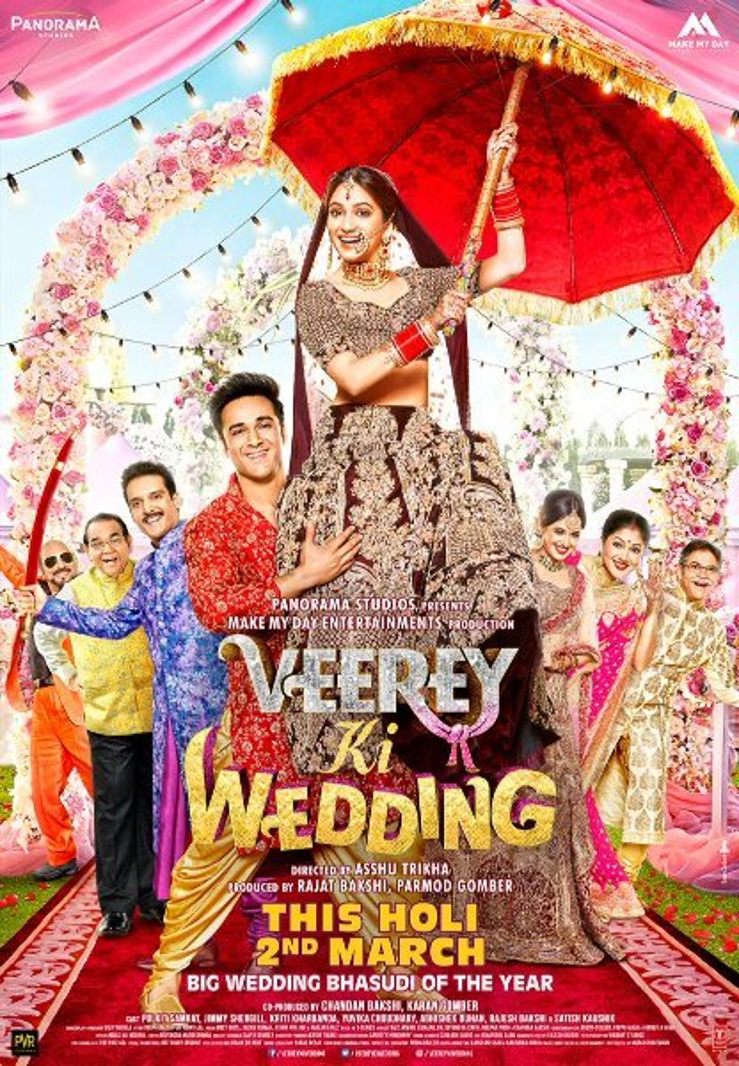Veerey Ki Wedding Movie Poster